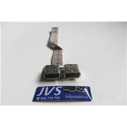 DA0QT6TB6E0 34QT6VB0000 Placa USB com cabo  HP PAVILION dv5 [001-VAR055]