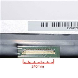 Tela LTN156AT20-W Brillo HD 15.6 polegadas