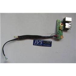 447444-001 DDAT8BPB100 DC Power Jack Conector de carga y puerto USB con cable HP COMPAQ F700 [001-PJ025]