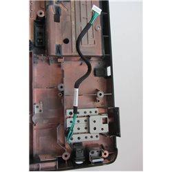 V000140270 6017B0148601 Carcasa bateria + Power jack, Conector de corriente Toshiba Satellite L350 [001-CAR116]