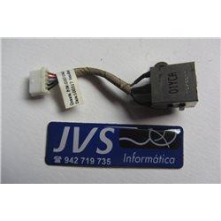 DD0UM3PB001 6K5PF DC Power Jack Conector de carregamento Dell Inspiron 1564 [001-PJ030]