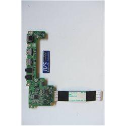 DA0BU3AB6F0 Toshiba Satellite Pro T130 Painel USB audio [002-VAR001]