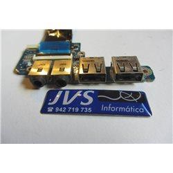 DA0TL1AB6D0 PAINEL USB / AUDIO TOSHIBA SATELLITE T110 [002-VAR003]