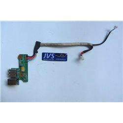 DDAT8APB3000 PLACA DC/ USB conector de carregamento HP PAVILION DV6500 [000-VAR004]