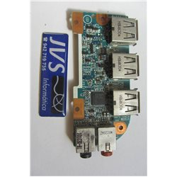 1P-1106J00-6011 AGD-B17-EBD-5AF cartão usb / audio SONY VAIO PCG 7131M [002-VAR007]