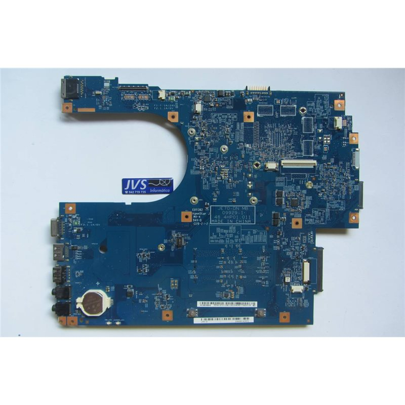 JE70-DN MB 09929-1 48.4HP01.011 Placa Base Motherboard Packard Bell MS 2291 [002-PB007]