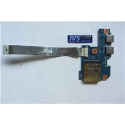 48.4HP02.011 Leitor de cartões e porta USB com cabo Packard Bell MS2291 [002-VAR008]