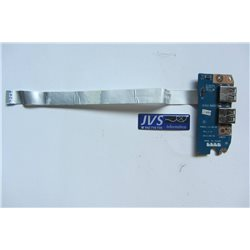 P5WS5 LS-6973P Rev 1.0 Placa USB con cable Packard Bell EasyNote [002-VAR009]
