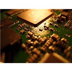 Reparación Electrónica de placa en ordenador portátil