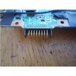 Sustitución de conectores dañados en el portátil (USB, jack carga, bateria...)