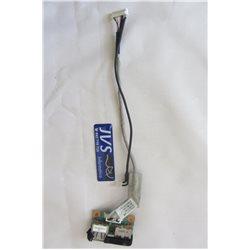 50.4D015.001 REV A01 554H5D4DD1G 3A CONECTOR USB CON CABLE HP PRESARIO CQ70 CQ70  [001-VAR004]