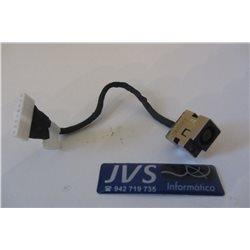 DD0AX6PB000 DC JACK conector de carregamento para HP Compaq Presario CQ56, CQ62, G56, G62 [001-PJ003]