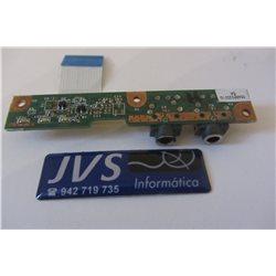 E255400 50.4H501.001 Conector Audio para Presario CQ60 CQ50 [001-VAR009]