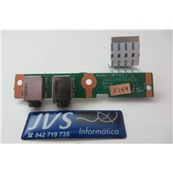 DA00P6AB6D0 320P6AB0000 PLACA AUDIO HP COMPAQ CQ71 G61 CQ61 [001-VAR011]