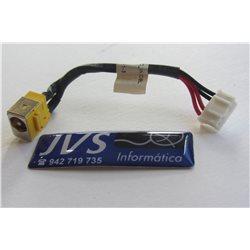 50.4T334.001 Power Jack Pj conector de carregamento Acer Extensa 5620 5220 Series [001-PJ009]