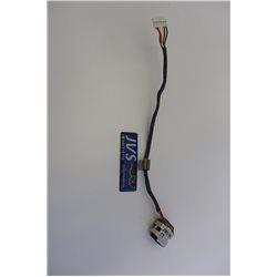 E255394 VW-1 CSA F 2.50CB HAMBURG-A H-2 125C Power Jack PJ conector de carreg HP Pavilion DV6-3000 DV7-4000 Series  [001-PJj010]