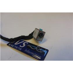 Power jack conector de carregamento Acer Aspire 5820T com cabo [001-PJ012]