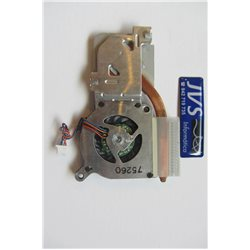 MCF-132PAM05 Ventilador y disipador Toshiba Portege R500 R505 [001-VEN027]