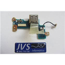 A002125-0 FMUUS1 P753061 Puerto USB con cable TOSHIBA PORTEGE R500 [001-VAR050]